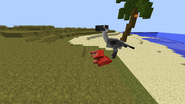 Titanis killing a quagga
