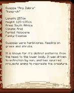 Quagga DinoPedia
