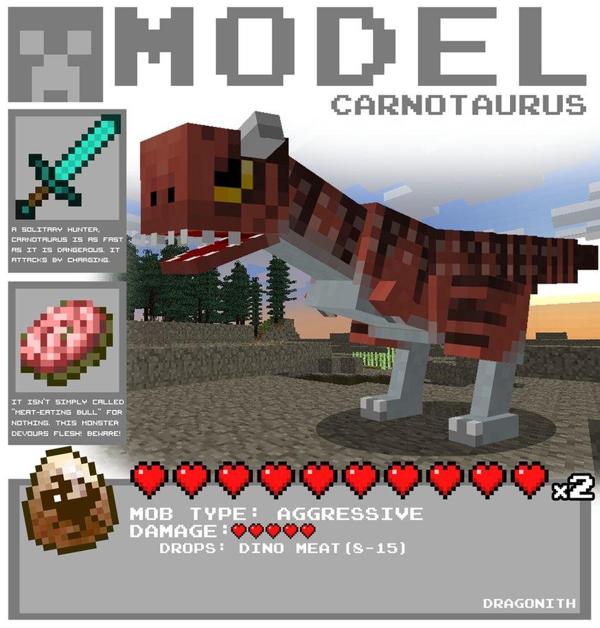 Minecraft Carnotaurus By Dragonith-d4qmdoz.png