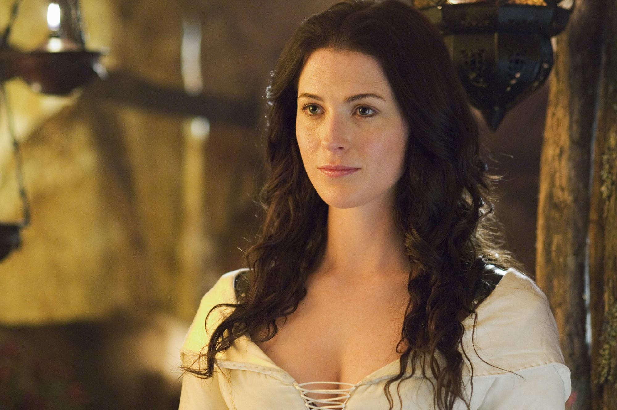 Who is bridget regan from legend of the seeker dating