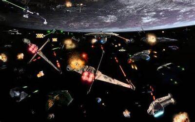 Space battle theme