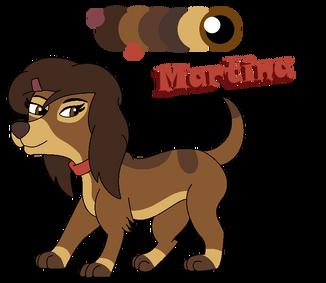 Martina-CashXDixie pup