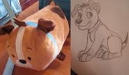Copperxmolly pup