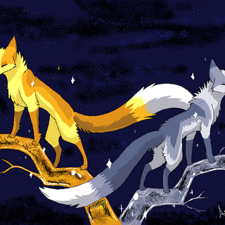 Queen Jackrabbit and King Arctica, also by Ash-Dragon-wolf.
