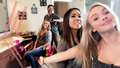 BTS Amy Acker and Natalie Alyn Lind make up.png