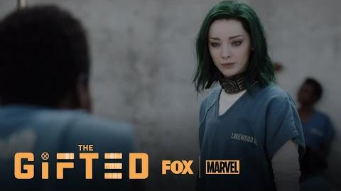 Lorna Makes Her Way To The Prison Yard Season 1 Ep. 2 THE GIFTED