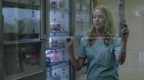 'The Gifted' Episode 2 Caitlin Steals Medical Supplies