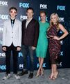 Upfronts 2017 Natalie Alyn Lind, Percy Hynes White, Stephen Moyer, and Amy Acker.jpg