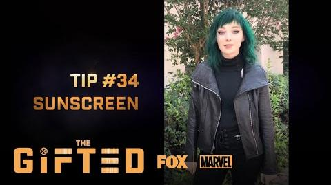 The Gifted Comic-Con Tips THE GIFTED
