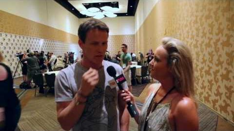 Stephen Moyer The Gifted Comic Con With The Pulse