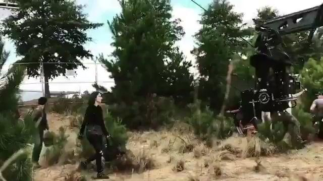 The Gifted S01E09 Behind the Scenes
