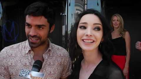 Meet The Sexy Couple From The Gifted Sean Teale and Emma Dumont