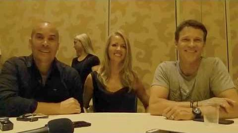 SDCC 2017 The Gifted - Amy Acker, Stephen Moyer & Coby Bell