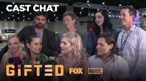 The Cast Of The Gifted At Comic-Con 2018 THE GIFTED