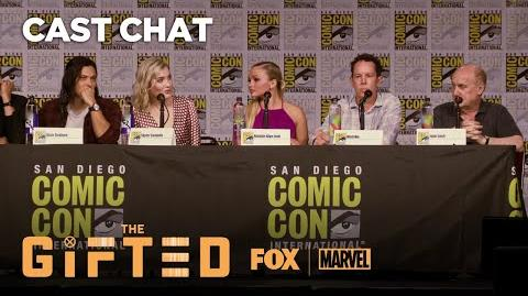 The Gifted Panel At Comic-Con 2018 THE GIFTED
