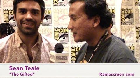 My SDCC 2017 Interview with 'THE GIFTED' Star, Sean Teale