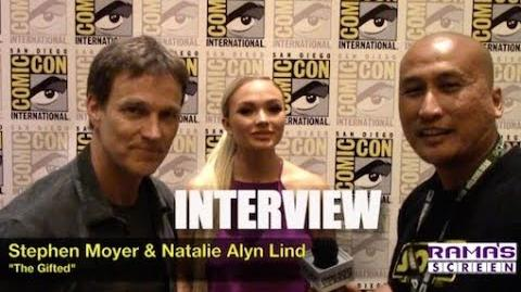 My Interview with Stephen Moyer and Natalie Alyn Lind about 'THE GIFTED' Season 2