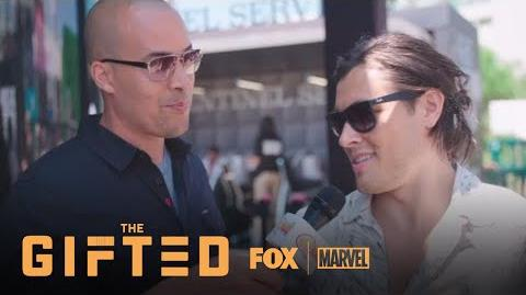 Coby Bell & Blair Redford Pull A Mutant Hunting Stunt At Comic-Con Season 1 THE GIFTED