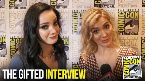 The Gifted Cast Excited for Season 2 at Comic Con 2018