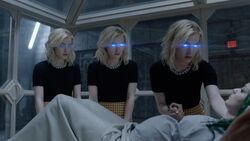 TG-Caps-2x01-eMergence-130-Esme-Sophie-Phoebe-telepathy-blue-eyes-Frost-Sisters