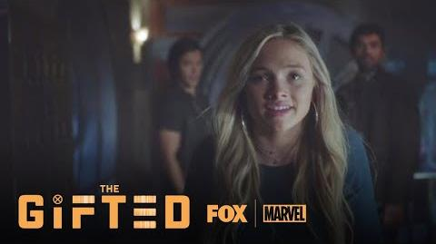 Lauren Uses Her Powers To Close Blink's Portal Season 1 Ep. 2 THE GIFTED