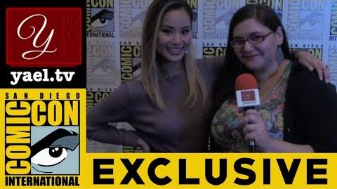 Jamie Chung - The Gifted (FOX) - San Diego Comic Con 2017 yael.tv