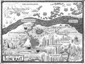 Land of Foxcraft map