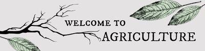 Agriculture header