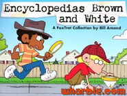 FoxTrot Book Encyclopedias Brown and White