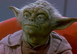 Marionette de Yoda