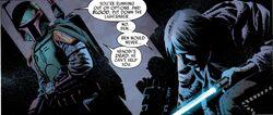 Boba Fett vs Luke Skywalker