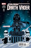 Darth Vader 1 2015 Skottie Young Variant