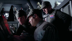 Piett et l'équipage
