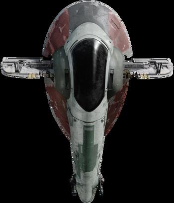 Vaisseau de patrouille et d'attaque de classe Firespray-31