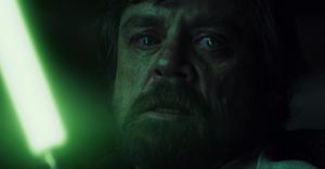 Luke dans la hutte de Ben Solo
