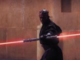 Double sabre laser