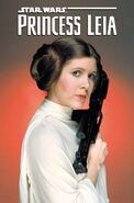 Star Wars Princess Leia 1 Textless Movie Cover