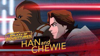 Han et Chewie, partenaires pour la vie