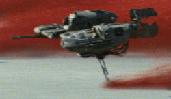 Ski Speeder de la Résistance