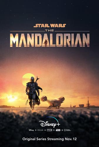 Poster de la saison 1 de The Mandalorian