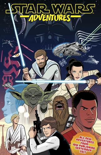 Star Wars Aventures Ashcan