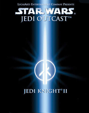 jaquette du jeu pc star wars jedi knight 2 jedi outcast