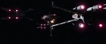 Escadron de X-Wing non-identifié
