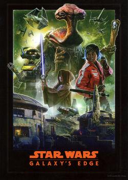 Affiche Star Wars Galaxy's Edge