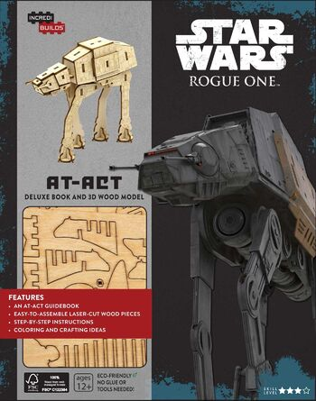 Star Wars: Rogue One: AT-ACT Deluxe Book and 3D Wood Model