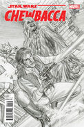 Chewbacca 1 sketch variant