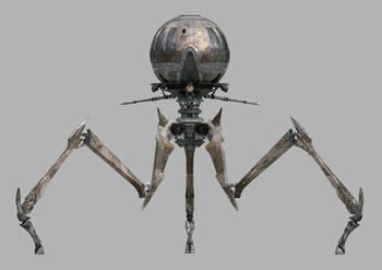 Tri-droïde de combat Octuptarra