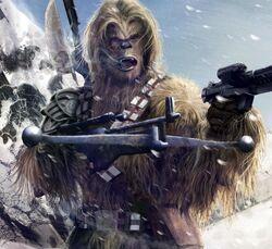Wookiee Warrior TNsR by Chamberlain