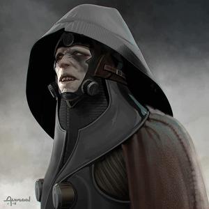 Concept art de Kylo le tueur de Jedi