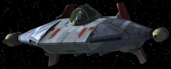 A-Wing de Hera